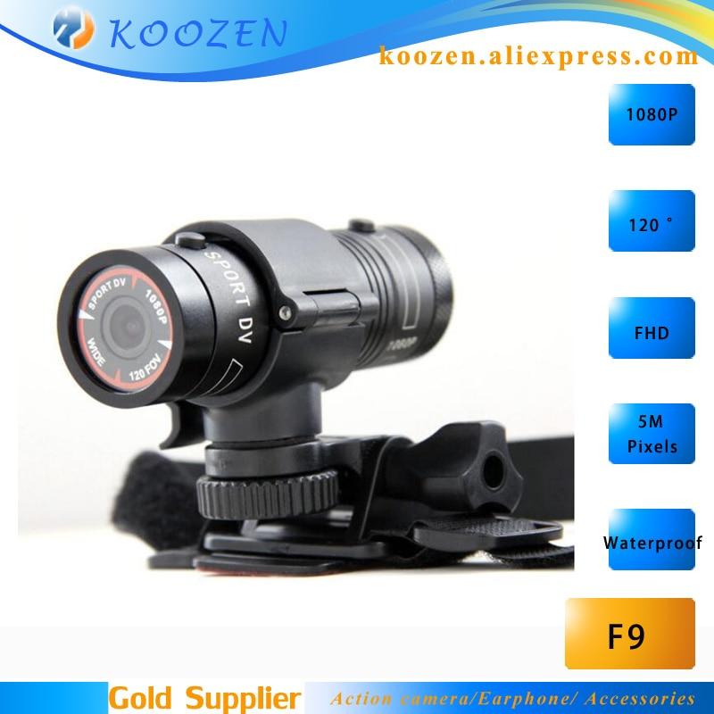 Mini Camcorder F9 Full HD 1080P Waterproof Action camera Cycling Diving Camera<br><br>Aliexpress