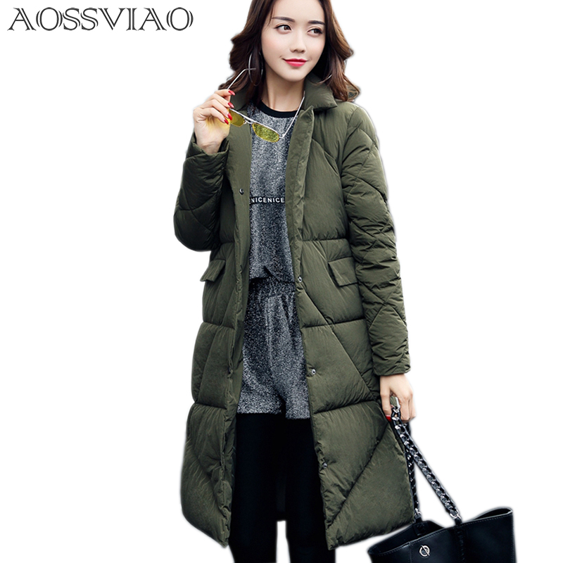 AOSSVIAO New Arrivals Winter Jacket Womens Parkas 2017 Thick Warm Cotton Padded Female Jacket Winter Coat Women Snow Coat BlackÎäåæäà è àêñåññóàðû<br><br>