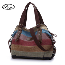K2 Patchwork Canvas Bag 2017 Newest Materials:high qualiWomen Tote Bag Casual Shoulder Bag Mother Shopping Bag Big Handbag Bolsa