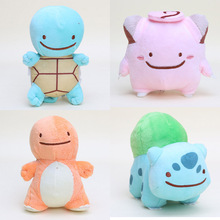 12-15cm Pocket doll Plush Toys Charmander Squirtle Bulbasaur Clefairy Ditto Metamon Anime Plush Toy Stuffed Animals Plush dolls(China)
