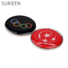 1Pc Football Referees Selected Edges Toss Coin Badminton Point Edge Detector Soccer Table Tennis Referee Choice Side Double Side(China)