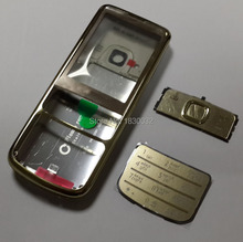 Russian Keypad Keyboard Gold Metal Housing Cover Case For Nokia 6700 6700C Classic Repair Part