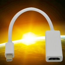 Mini DisplayPort Display Port DP to HDMI Adapter Cable 1080P HD For Apple Mac Macbook Pro Air