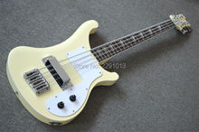 NEW arrival and High quality   4003 bass guitar Cream color 8 strings Model Best workmanship Free shipping