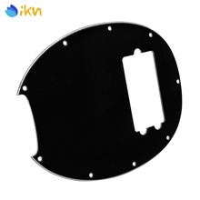 NEW MM Bass Guitar Pickguard Humbucker Scratch Plate Black 3Ply for Music Man Bass(China)
