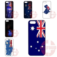 Australia Flag For Apple iPhone 4 4S 5 5C SE 6 6S 7 7S Plus 4.7 5.5 iPod Touch 4 5 6 Pattern Phone