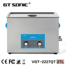 Stainless steel industrial ultrasonic carburetor cleaner manufacture ultrasonic bath with heater VGT-2227QT(China)