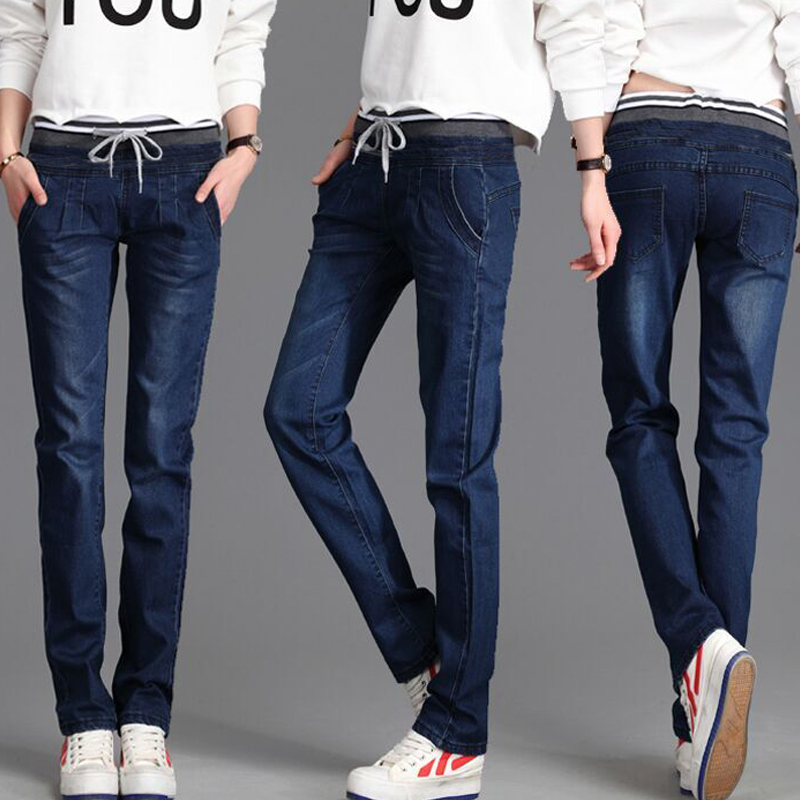 Winter Warm thick velvet skinny jeans Pants for woman Plus size Blue demin trousers Skinny ladies pants Femme Pantalon MZ939Одежда и ак�е��уары<br><br><br>Aliexpress