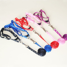 Brand New High Quality Nylon Pet Cat Doggie Puppy Dog Leash Lead Harness Belt Traction Rope(China)