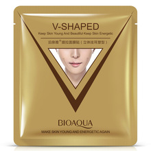 BIOAQUA Firming 3D Facial Mask V Line Slimming Lifting Shaping Whitening Moisturizing Brighten Mask Skin Care