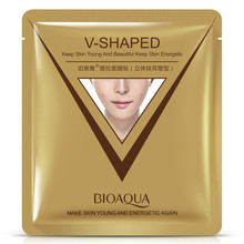 BIOAQUA Firming 3D Facial Mask V Line Slimming Lifting Shaping Whitening Moisturizing Brighten Mask Skin Care(China)