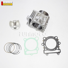 CYLINDER COMPON SET INCLUDE PISTON  PISTON PIN  PISTON RING  GASKET FOR HISUN 400CC ATV ENGINE PARTS
