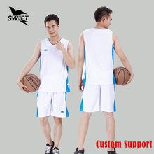 Basketball Men Promotion Sale Jerseys Breathable Mens Sleeveless Jersey 2017 Cheap Shirt Custom Training Uniform Gym Tracksuit