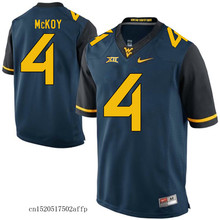 Free shipping New style Nike 2017 West Virginia Mountaineers Kevin White 11 Boxing Basketballly Jersey Kennedy McKoy 4(China)