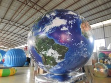 helium air advertising balloon inflatable planet balloon helium balloon(China)