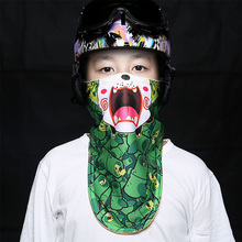 Kids Winter Warm Face Mask Cold Protection Chidren Ski Mask Snowboard Windproof Motorcycle Bike Scarf(China)