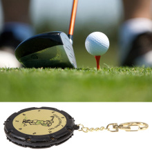 Freeship 1PCS Golf Stroke Shot Putt Score Counter Keeper Scoring Tag Bag Clip With Keychain 18 Hole golf score recording Plastic