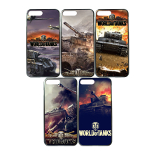 Lotezly Hot Burst models World of Tanks Style for iphone 6 6s7 7plus Gaming Phone Case PC For Gamer Aircraft Shooting Games Gift