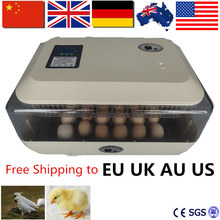 EU,US,AU Stock! Home 24 Egg Digital Mini Incubator High Hatching Rate Poultry Incubator Hatcher Quail Eggs CE Approved(China)