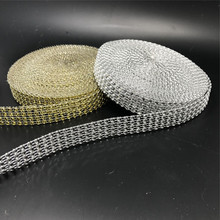Free Shipping 4rows x10Yards DIAMOND MESH RHINESTONE Wrap Bling Crystal Ribbon DIY Wedding Cake Party Centerpieces Decoration