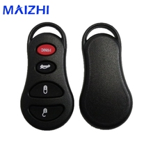 maizhi 4 Button Remote Keyless Key Fob Shell Case for Jeep Liberty Dodge Intrepid Stratus Viper Chrysler Sebring LHS Concorde(China)