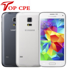 "Original Unlocked Samsung Galaxy S5 mini G800F Mobile phone 4.5"" Android Quad Core 1.5 RAM 16GB ROM 8.0MP GPS WIFI Refurbished(China)"