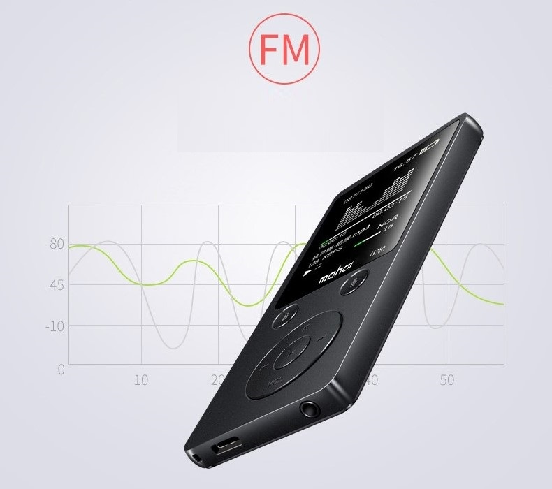 Top Brand MP4 Player Mahdi M360 4G8G Alarm Clock FM Radio E-Book Recording Speaker TF New Metal Sport MP4 With Armband Earphone (12)