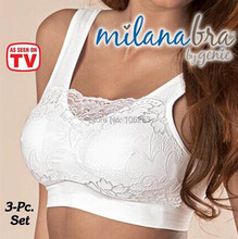 NEW ! Free Shipping Sexy Slimming Ahh Bra As seen on TV Seamless Leisure Genie Bra Comfortable and The Functional Bra(Hong Kong)
