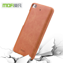 "Mofi For Xiaomi 5S Mi5S 5.15"" case leather brown case cover For Xiaomi 5S Mi5S case accesories black protection luxury original"