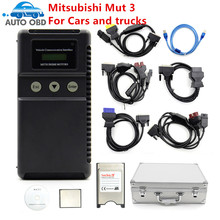 Mut 3 Mut III Scanner for Mitsubishi MUT3 for Cars and Trucks MUT 3 Diagnostic tool MUT-3 for mitsubishi mut 3(China)
