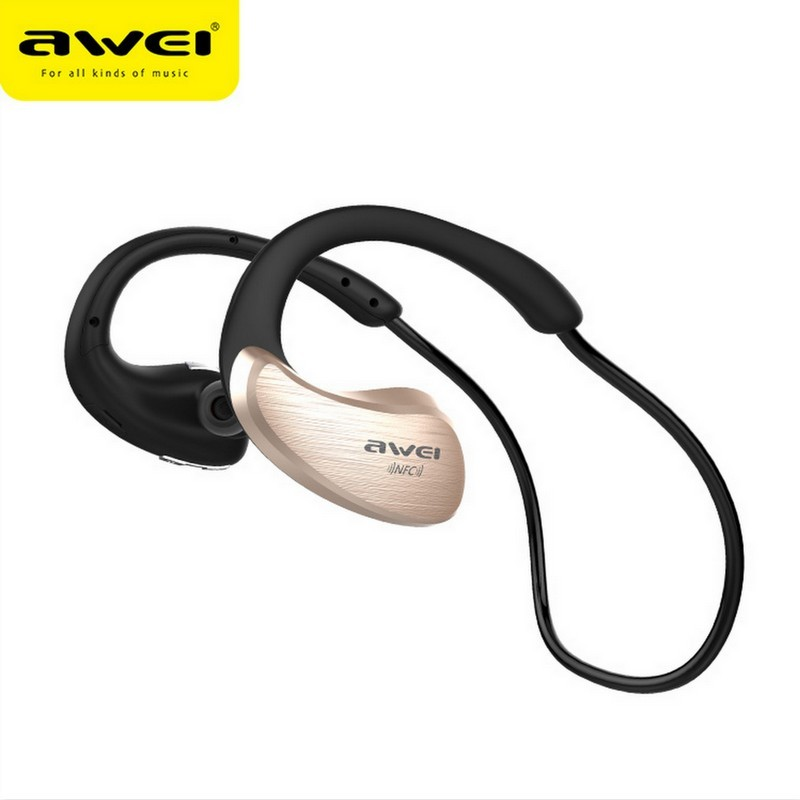 Desxz A885BL Waterproof Sports Wireless Bluetooths Headsets and Sweat Headphones Built-in NFC portable for phone iPhone  Android<br><br>Aliexpress