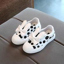 HaoChengJiaDe Cute Girls Shoes Autumn New Cartoon Fashion Baby Girls Sneakers Children Shoes Kids Soft Casual Shoes Size 21-30