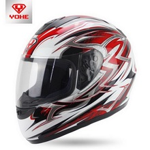 YOHE motorcross motorcycle helmet winter run full face motorbike helmets made of ABS model YH-993 Lightning 2 # 7 colors 5 size