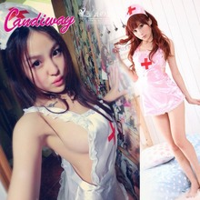 Buy nurse costumes sexy lingerie hot erotic women cosplay underwear pajamas kigurumi Intimate goods sex toys babydoll charming