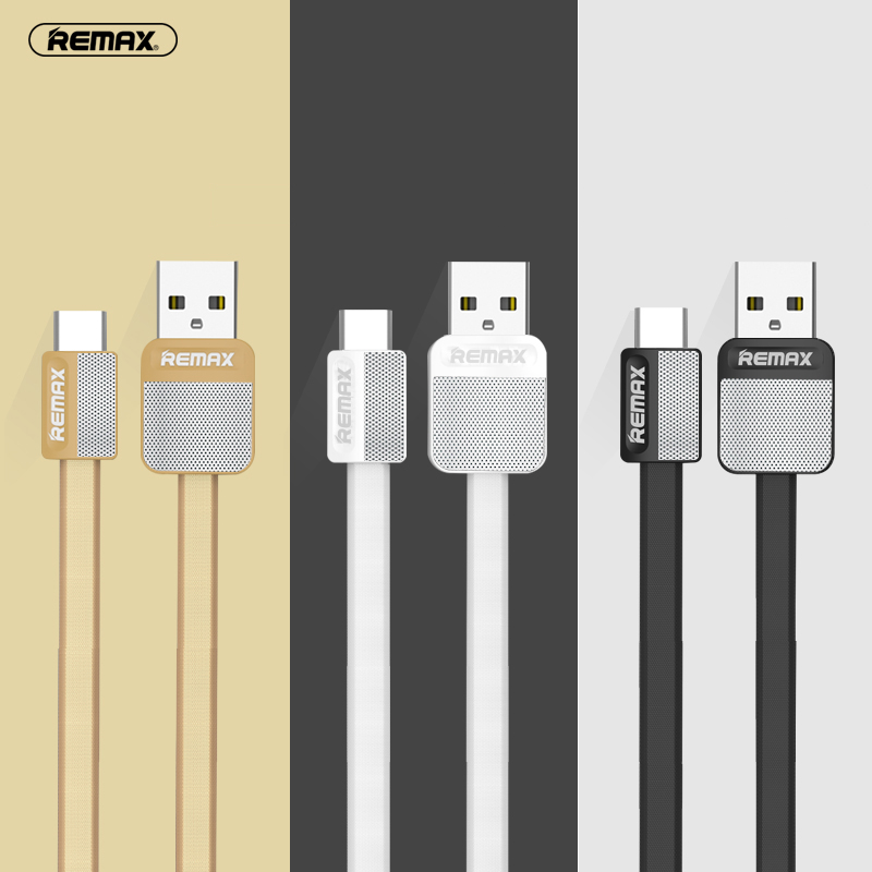 Original Remax TYPE C USB font b Cable b font for Huawei P9 Nova Meizu Pro