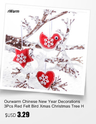 Ourwarm 18 DIY Felt Christmas Tree Pendant Drop Ornaments New Year Gift for Children Kids Door Wall Hanging Xmas Decoration 6