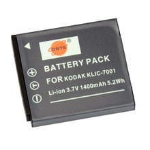 DSTE KLIC-7001 Rechargeable Battery for KODAK V550 V570 V610 V705 M753 M763 M853 M863 M893 M1063 Camera