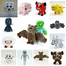 15styles Minecraft Game Plush Toys Price for 1pcs
