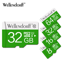 High speed green micro sd card 32GB class 10 flash memory card 4GB 8GB 16 GB 64GB TF card for Phone/Tablet/Camera