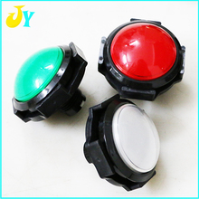 5pcs 60mm Convex button switch push button with 12V LED light micro switch for Slot machine /Jamma Arcade cabinet accessories(China)
