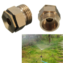 EZLIFE 360 Degrss Connector Thread Water Sprinkler Irrigation Spray Nozzle Watering Head Garden Brass Supplies JR0006