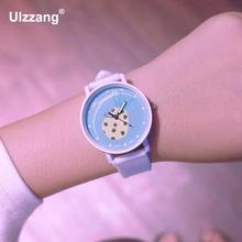 Ulzzang Pineapple Jelly Cute Fashion Silicone Gel Quartz Women Girls Children Wrist Watch Gift White Pink Mint Green(China)