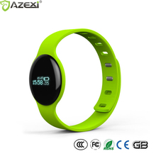 Fashion Sports Heart rate smart bracelet H8S fitness tracker intelligent wristband software sleep management IP67 CE ROHS(China)