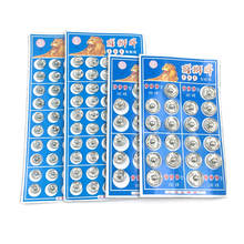 Snap Button Fasteners Press Button Stud Plating Round Sewing Accessory 8.5mm/10mm/12mm/14mm(China)