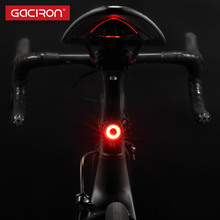 Gaciron Bike Taillight Waterproof Riding Rear light Led Usb Rechargeable Road Cycling Light Tail-lamp Bicycle Light Accessories(China)