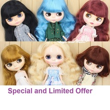 [NBL159] 2017 New Free Shipping Nude Blyth # Special and Limited Offer 4 Style NeoBlythe Doll for Retail