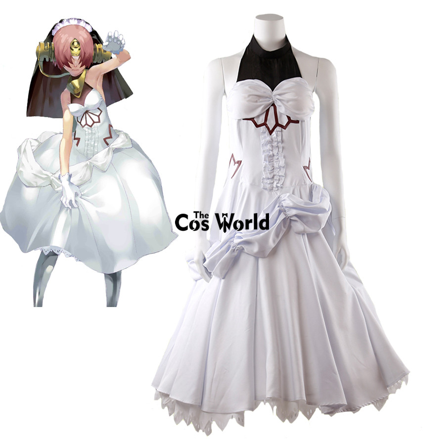 FGO Fate Grand Order Frankenstein Full Tube Tops Dress Outfit Anime Cosplay Costumes