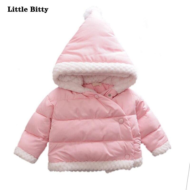 Baby coat boys cute solid hooded jacket romper tops coat baby girls long-sleeved coat kids girls clothes princess <br>