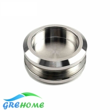 304 Stainless steel sliding glass door handles cabinet knobs and kitchen handle(China)