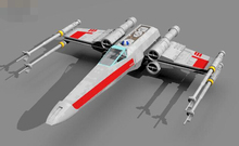 Free shipping Paper Model Star Wars X WING X Fighter Airplane DIY Intellectual Development Toy(China)